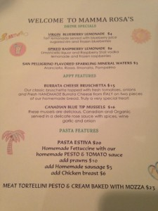 July 2014 Features Menu