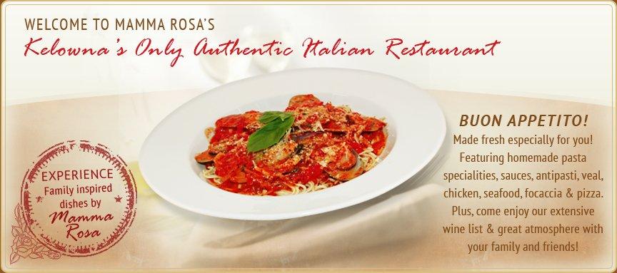 Mamma Rosa Kelowna Restaurant