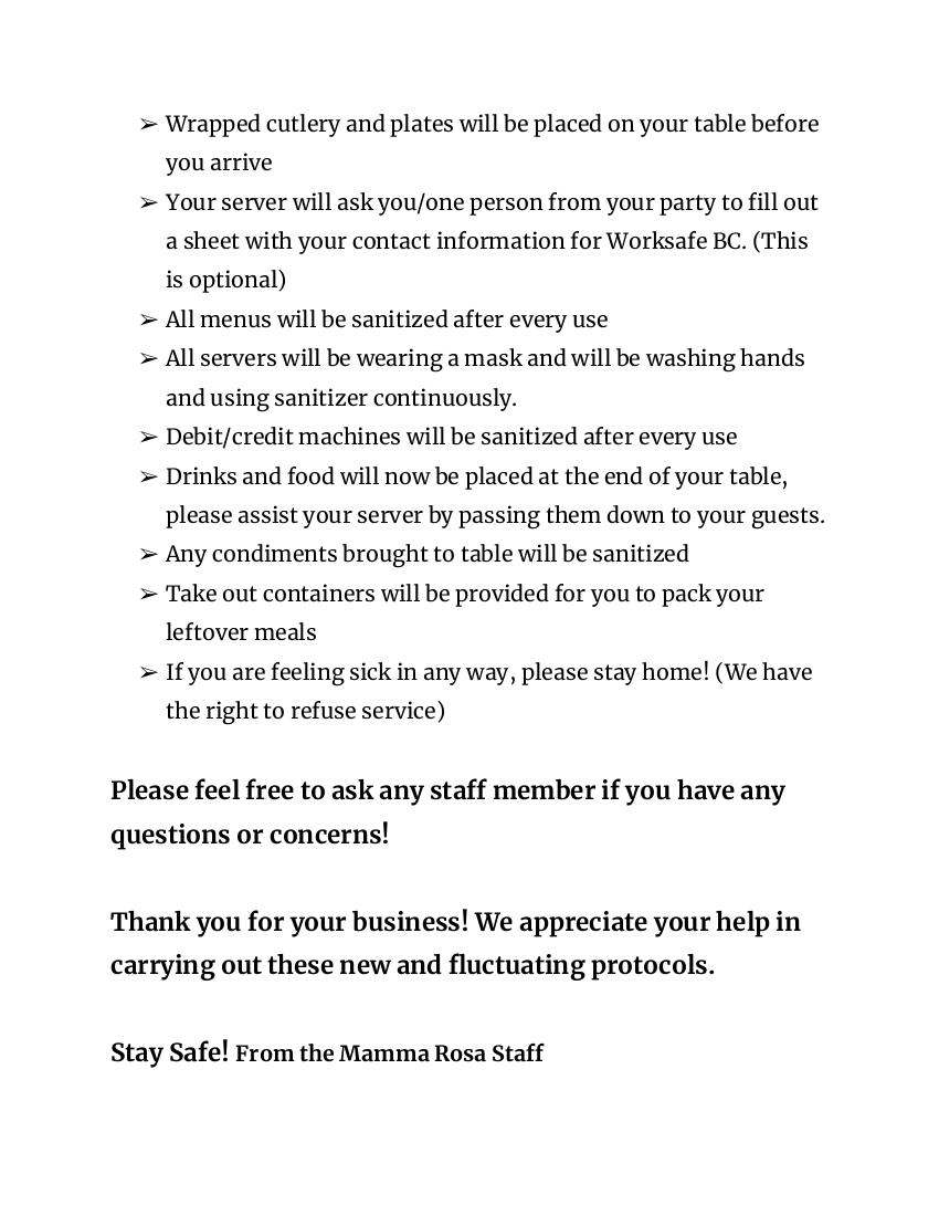 protocol sheet Page 2